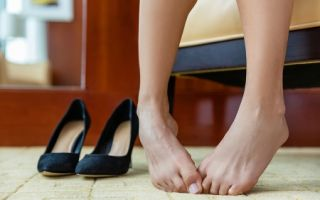 Эффективные кремы для ног против пота и запаха
